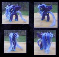 My Little Pony Princess Luna Custom by kaizerin