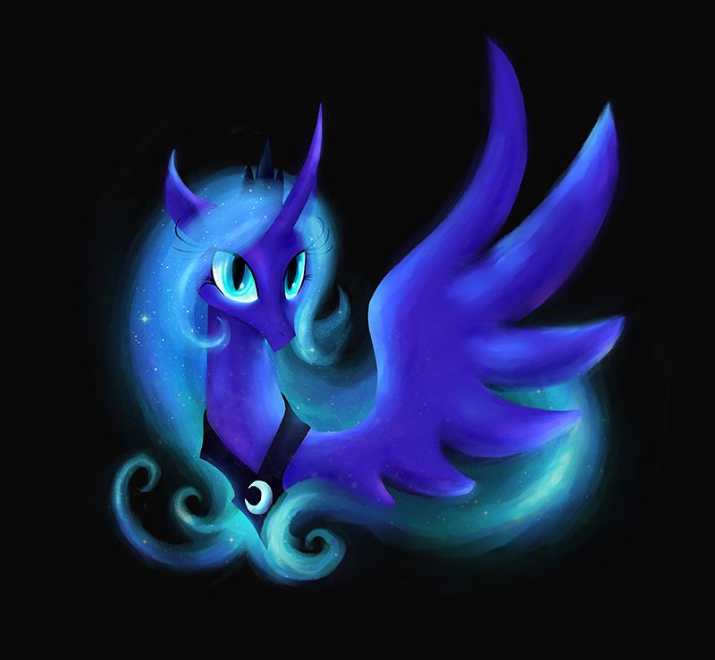 My Little Pony Princess Luna by kaizerin on DeviantArt