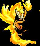Firewing Pony by kaizerin