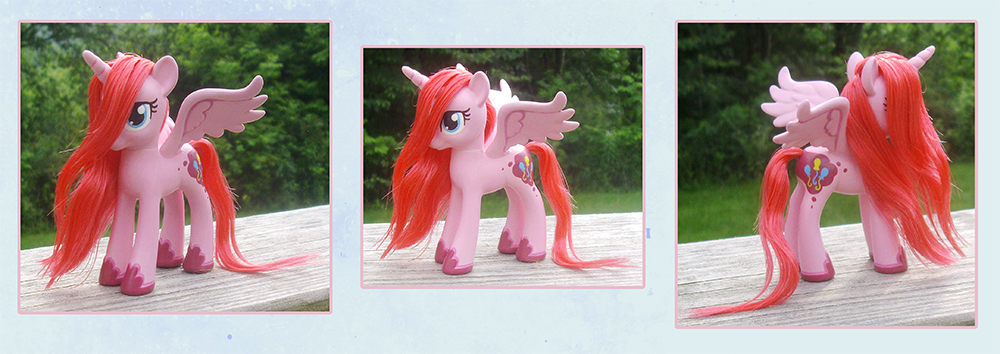 My Little Pony Alicorn Pinkie Pie Custom by kaizerin