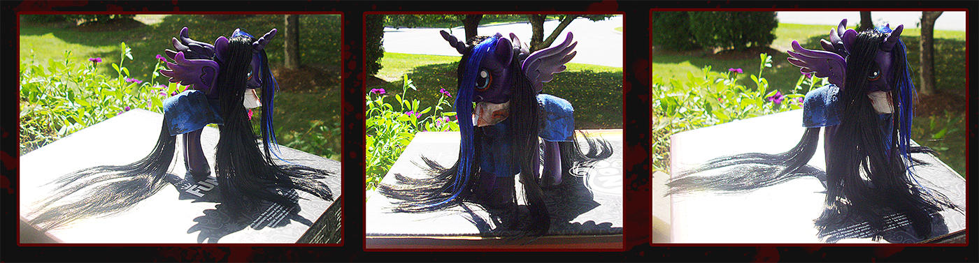 Princess Luna as Alessa custom