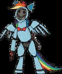 My Little Pony Rainbow Dash Animatronic