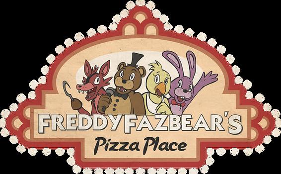 FNAF Freddy Fazbear Pizza Logo shirt design
