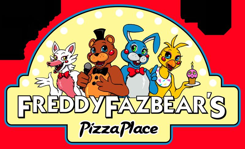 Logo pizza freddy fazbears
