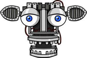 FNAF Endoskeleton shirt design by kaizerin