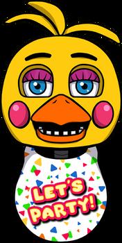 FNAF Toy Chica shirt design