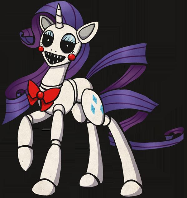 My Little Pony Rarity Animatronic by kaizerin on DeviantArt