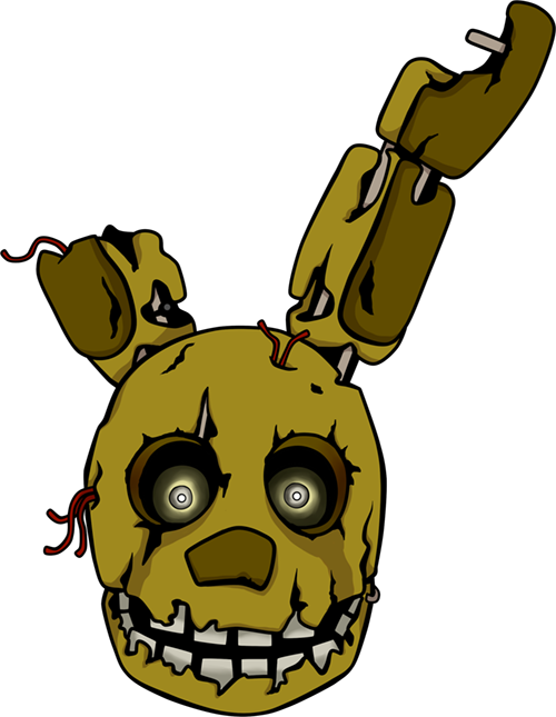 Five Nights At Freddys Springtrap Shirt Design By