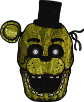 Five Nights at Freddy's - Phantom Freddy by kaizerin