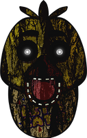 Five Nights at Freddy's - Phantom Chica by kaizerin