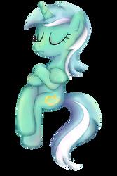 My Little Pony - Lyra Sitting shirt design by kaizerin