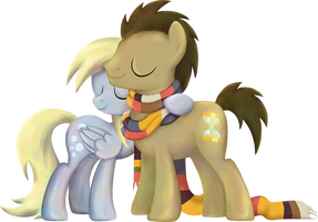 My Little Pony - Derpy and The Doctor by kaizerin