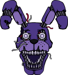 Five Nights at Freddy's -Nightmare Bonnie by kaizerin