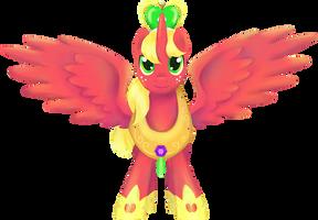 My Little Pony - Princess Big Mac shirt design by kaizerin