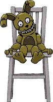 Five Nights at Freddy's - Plushtrap by kaizerin