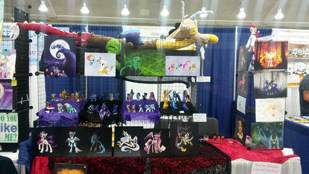Bronycon 2015 Booth by kaizerin