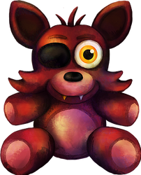 Five Nights at Freddy's FNaF4 Foxy Plush