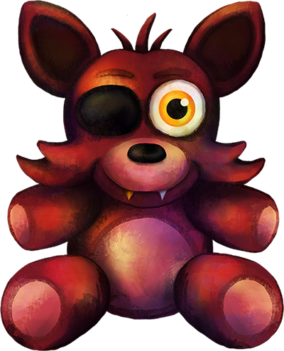 Five nights at freddy s fnaf4 foxy plush by kaizerin on deviantart