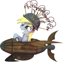 My Little Pony Derpy Flying Contraption