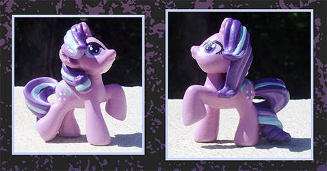 My Little Pony Custom - Starlight Glimmer Blindbag by kaizerin