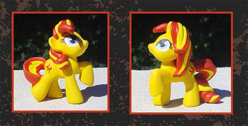 My Little Pony Custom - Sunset Shimmer Blindbag by kaizerin