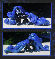My Little Pony Custom - Nightmare Moon Blindbag by kaizerin