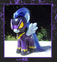 My Little Pony Custom - Shadowbolt by kaizerin