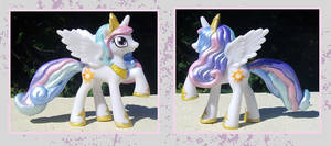 My Little Pony Custom - Princess Celestia by kaizerin