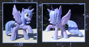 My Little Pony Custom - Princess Luna by kaizerin