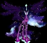 My Little Pony - Nightmare Twilight Sparkle by kaizerin