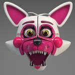 Funtime Foxy Head Render!