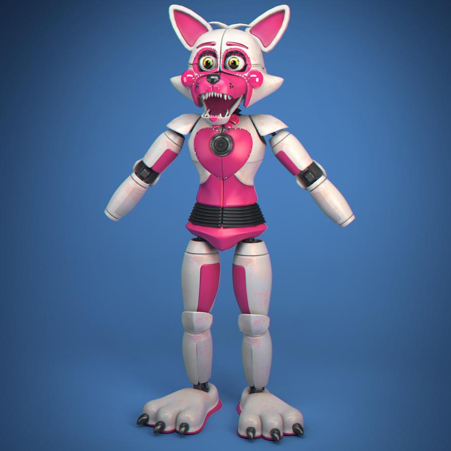 Funtime Foxy!! MORE WIP!!!!! (aaaa) by Qutiix