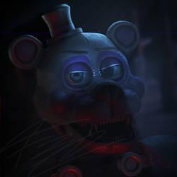 Funtime Freddy Horror Light Test by Qutiix