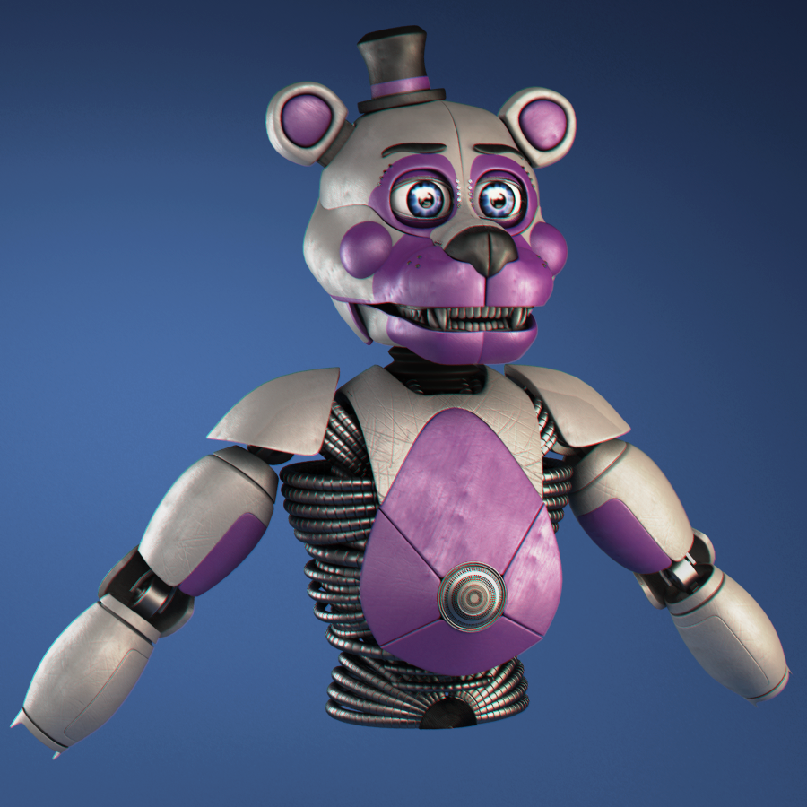 Blender Modeling Freddy