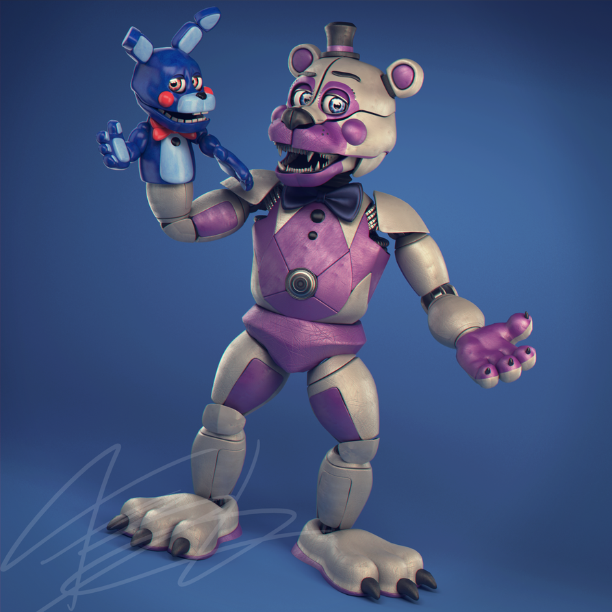 [SFM] Qutiix's Funtime Freddy And Foxy On The Stage