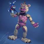 Funtime Freddy QUTIIX DESIGN finished full body by Qutiix