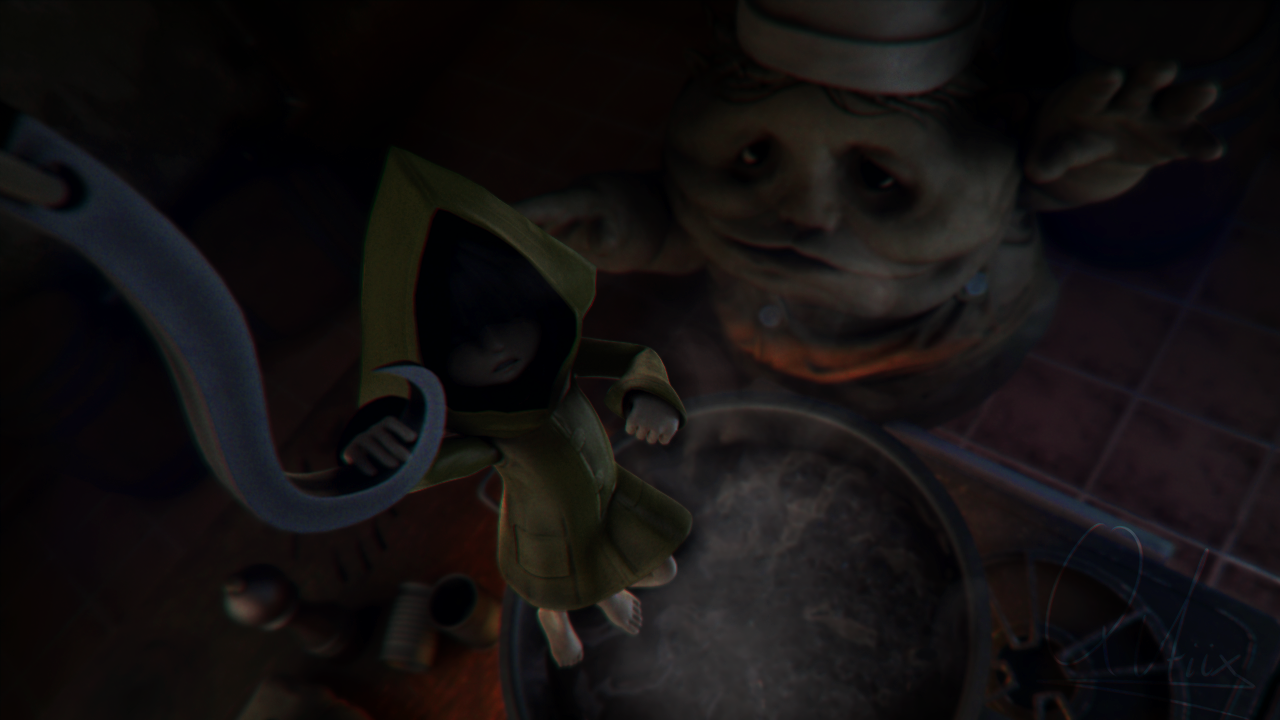 Little Nightmares Kitchen Hand Trophies