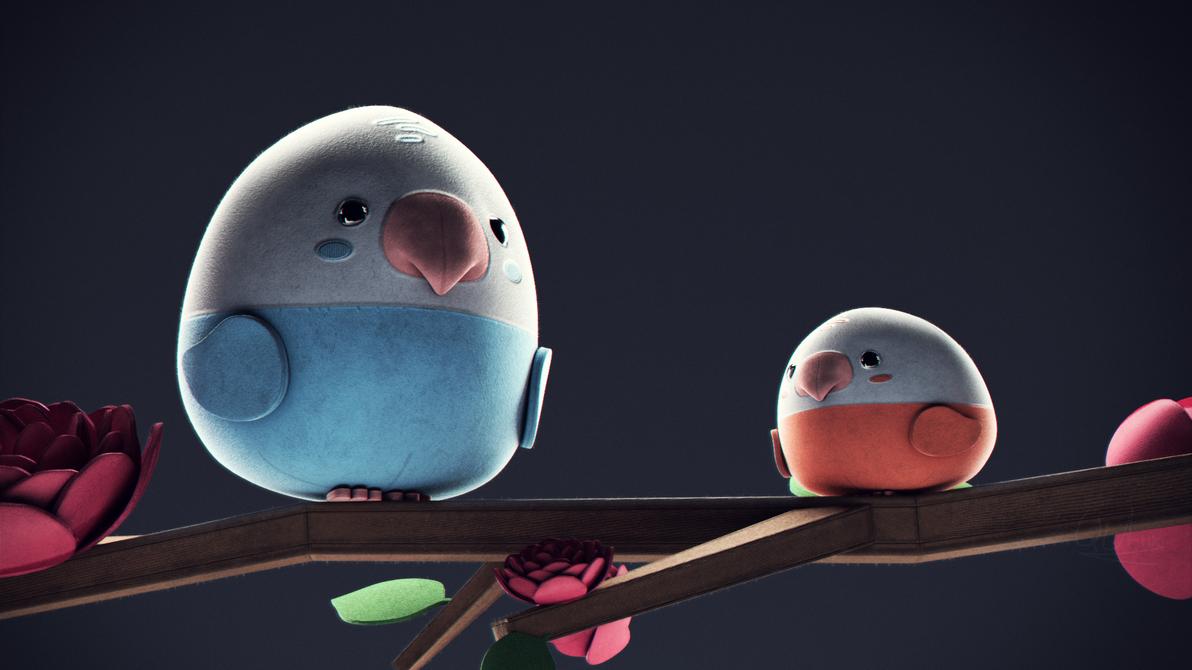 Sad Craft Birds [1080p Wallpaper] By Qutiix On DeviantArt