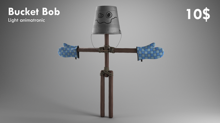 Bucket Bob is a blessing by Qutiix