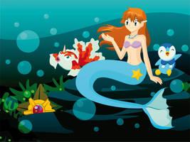 Misty Mermaid by Symphonie-Rose