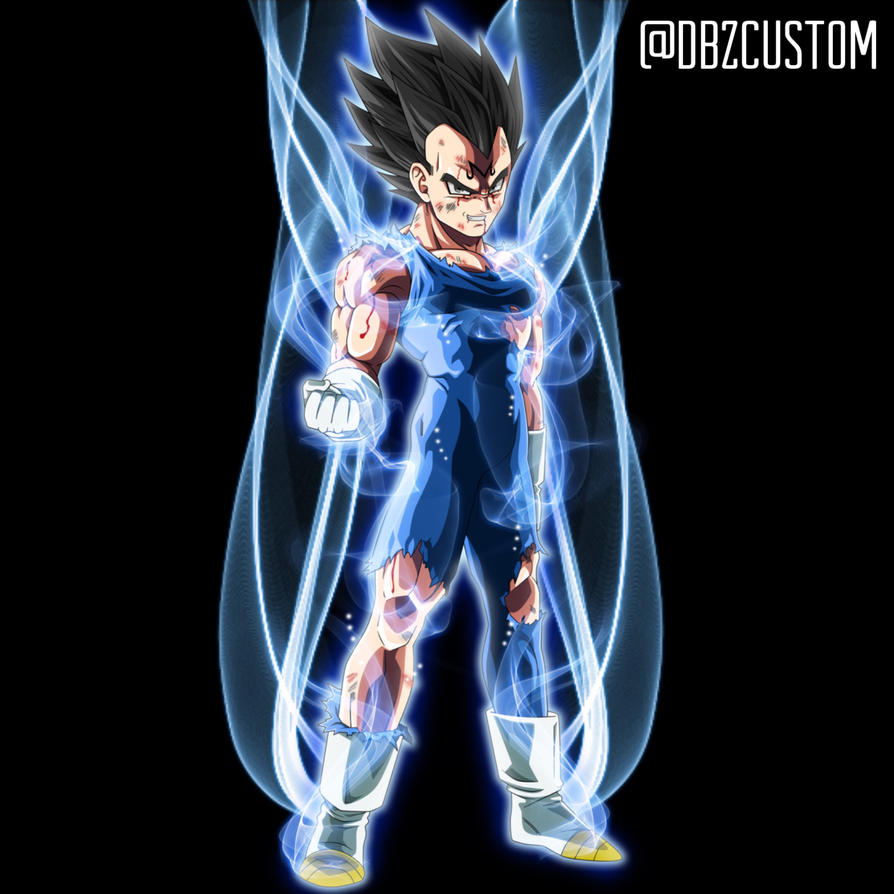 Ultra Instinct Dragon Ball Super Wallpaper: Vegeta Ultra Instinct By Dbzcustom On DeviantArt