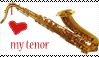 a saxy stamp by kleslie