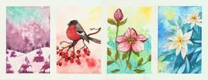 Seasonal paintings by Nashimus