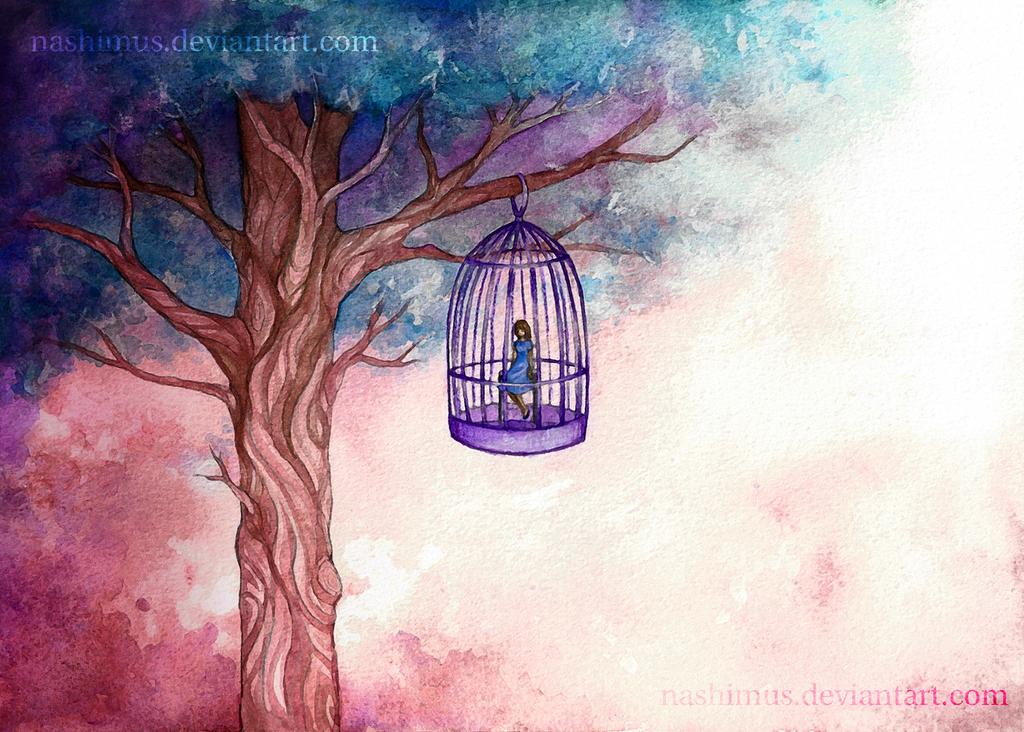 Caged Bird by Nashimus