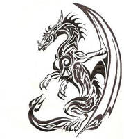 Dragon Tattoo by ghostagegirl