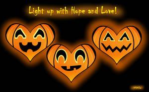 Covid Hearts Halloween