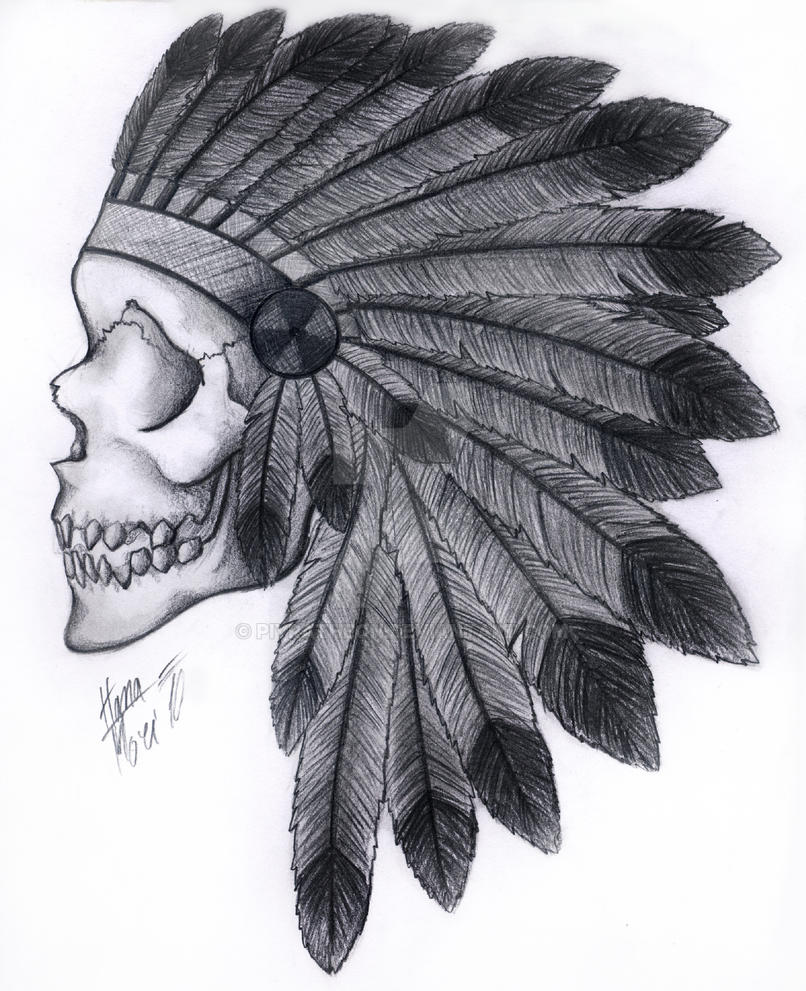 Tattoo Flash Wallpaper By Feathr: Skull Tattoo With Feathers By HM-Dragon-Dreamer On DeviantArt