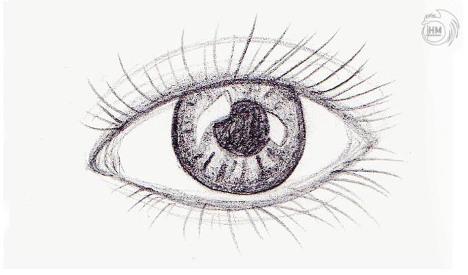 Blinking Demon Eye Pencil Animation By HM-Dragon-Dreamer On DeviantArt