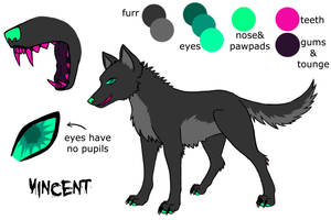 Vincent Character Reference For Tournament by Piyratheon