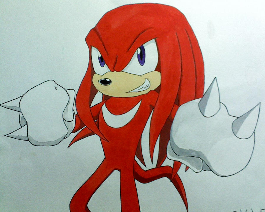 Knuckles XD by amberday